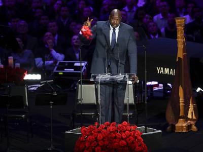 Shaquille O'Neal a jeho príhovor na rozlúčke s Kobem Bryantom