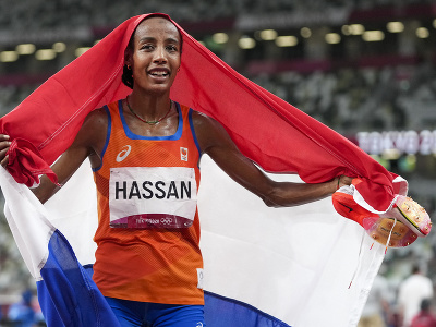 Holandská atlétka Sifan Hassanová