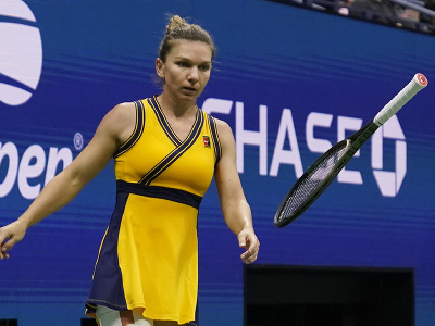 Rumunská tenistka Simona Halepová