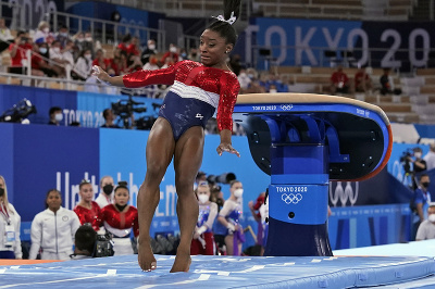 Americká gymnastická hviezda Simone