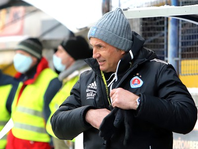 Tréner Slovan Bratislava Darko Milanič