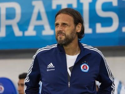 Tréner Slovana Ján Kozák