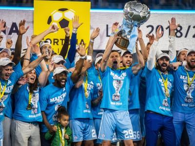 Oslavy víťaza Fortuna ligy