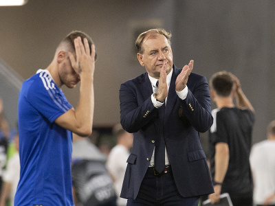 Tréner Slovana Bratislava Vladimír Weiss starší