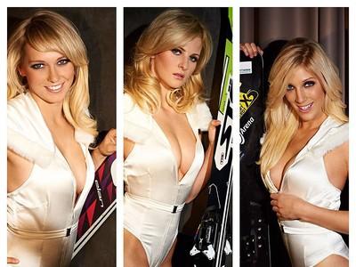 Pôvabná nemecká skokanka na lyžiach Melanie Faisstová.