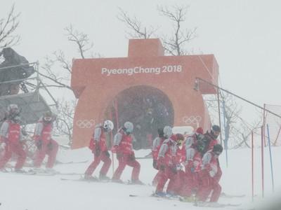 Olympijský slalom na ZOH