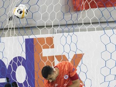 Dominik Greif inkasuje gól