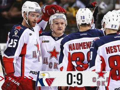 Radosť hráčov CSKA