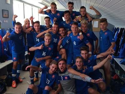 Radosť slovenských futbalistov do
