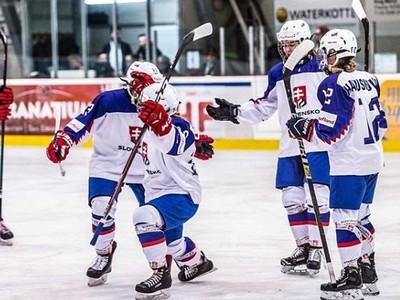 Slovenské hokejistky do 18
