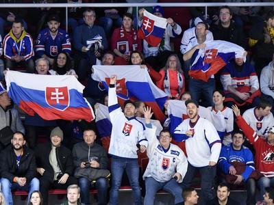 Fanúšikovia Slovenska v zápase