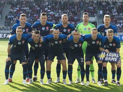 Slovenskí reprezentanti pred súbojom