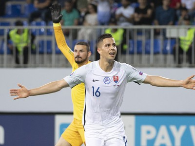 Dávid Hancko a jeho gólové oslavy
