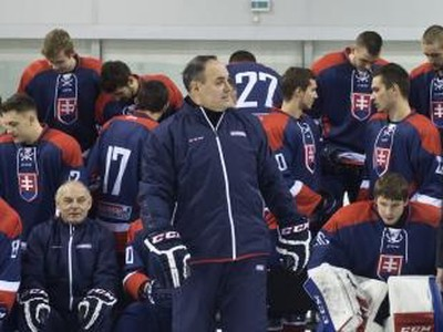 Tréner slovenských hokejových reprezentantov