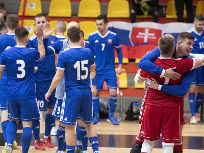 Víťazné oslavy slovenských futsalistov