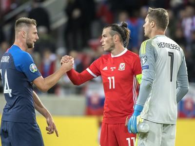 Milan Škriniar a Gareth Bale