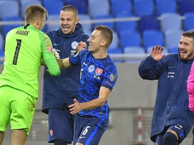 Obrovská radosť slovenských reprezentantov