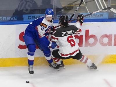 Kanadský útočník Jamie Drysdale