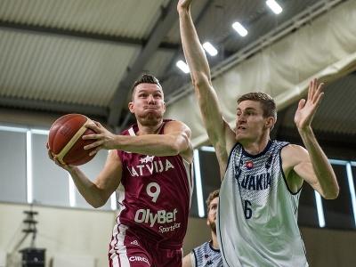 Slovensko prehralo s Lotyšskom