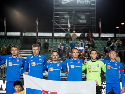 Slovenská reprezentácia v malom