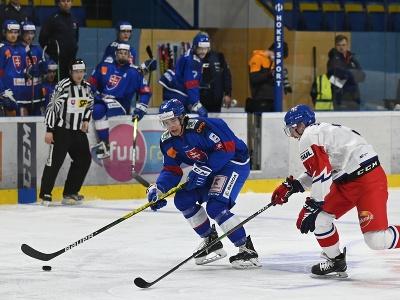 Martin Chromiak (v modrom)
