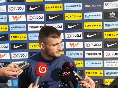 Matúš Bero na reprezentačnom