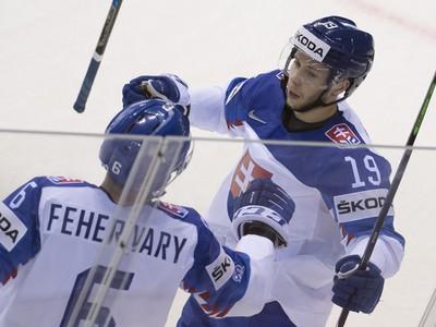 Na snímke slovenský hokejista