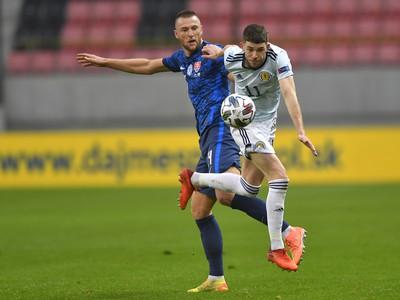 Milan Škriniar v súboji