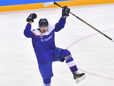 Radosť slovenského obrancu Petra