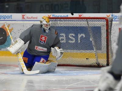 Brank�r slovenskej hokejovej reprezent�cie Patrik Ryb�r