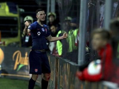 Róbert Boźeník a jeho gólové oslavy