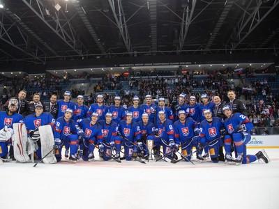 Slovenskí reprezentanti po triumfe na Kaufland Cupe 2019