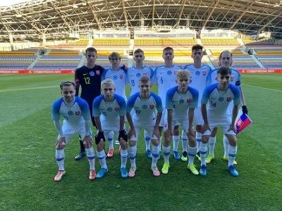Slovenskí futbalisti do 17