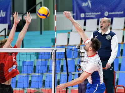 Zľava Luca Urlich (Švajčiarsko) a Peter Michalovič (Slovensko)