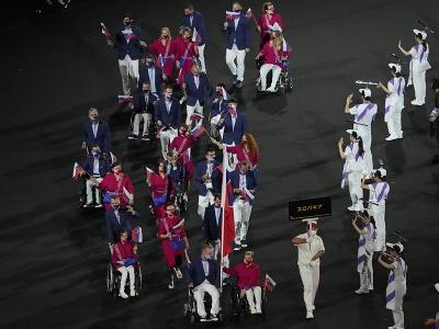 Slovenská výprava na paralympijských