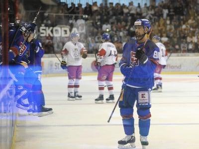 Tomáš Tatar v zápase proti Česku