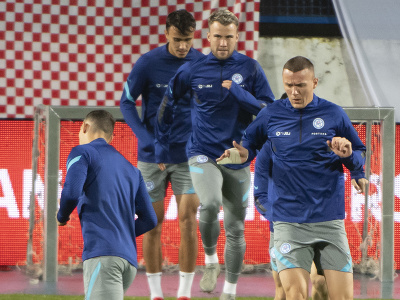Slovenskí futbalisti sprava Ladislav