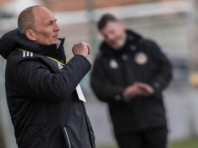 Tréner Slovana Darko Milanič