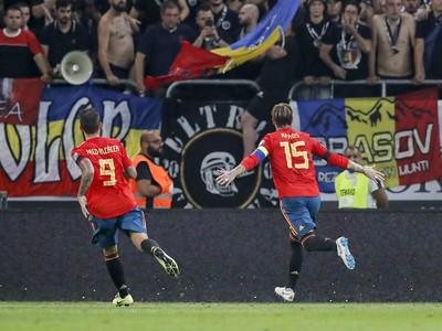 Sergio Ramos a jeho gólové oslavy so spoluhráčmi