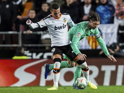 Rodrigo Moreno a Sergio Ramos