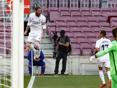 Sergio Ramos a jeho gólové oslavy