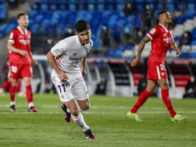 Marco Asensio a jeho gólové oslavy
