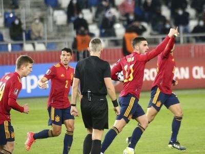 Ferran Torres a jeho gólové oslavy so spoluhráčmi