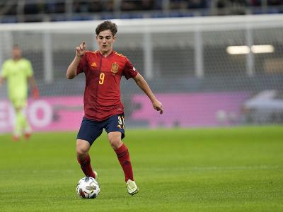 Španielsky futbalista Gavi