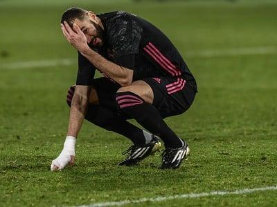 Frustrovaný Karim Benzema