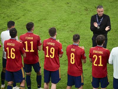 Futbalisti Španielska po prehre