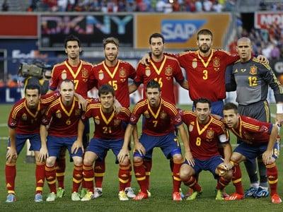 Španielska reprezentácia