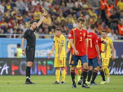 Razvan Marin inkasuje žltú kartu