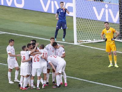 Španielska radosť po góle