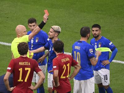 Leonardo Bonucci vidí červenú kartu